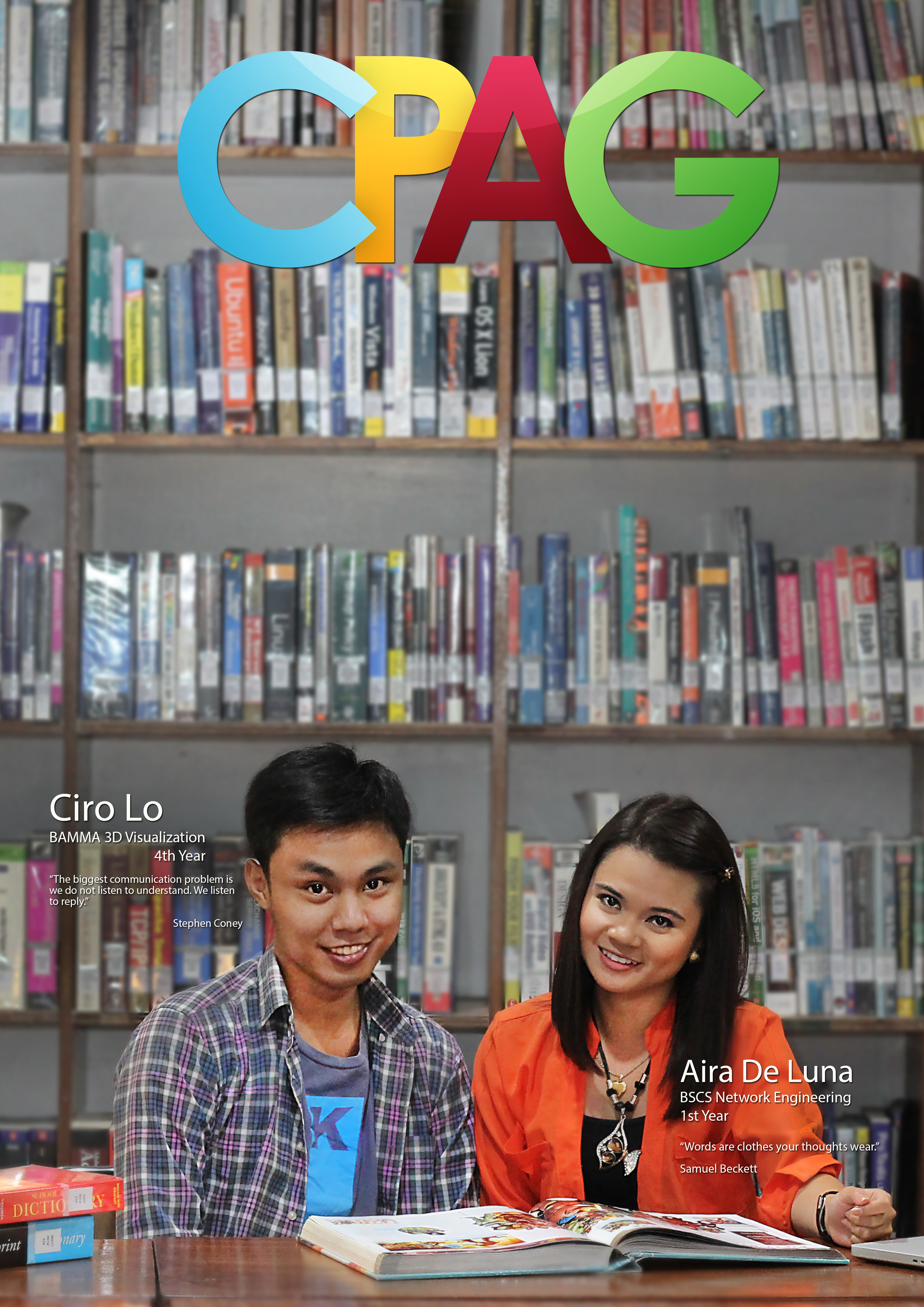cpag campaign: studying at the library