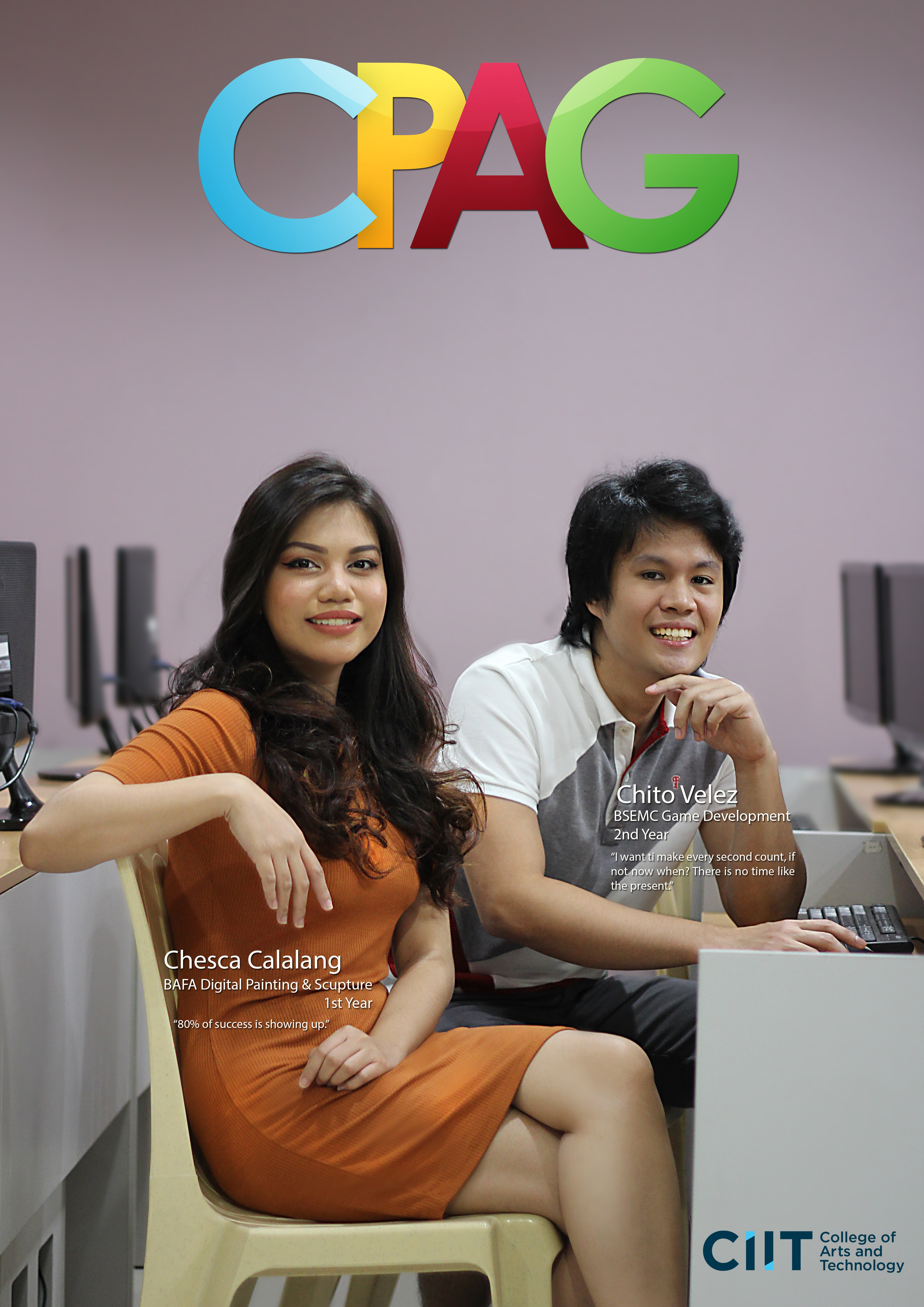 cpag campaign: students at the computer room