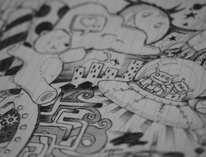 doodles: animation school