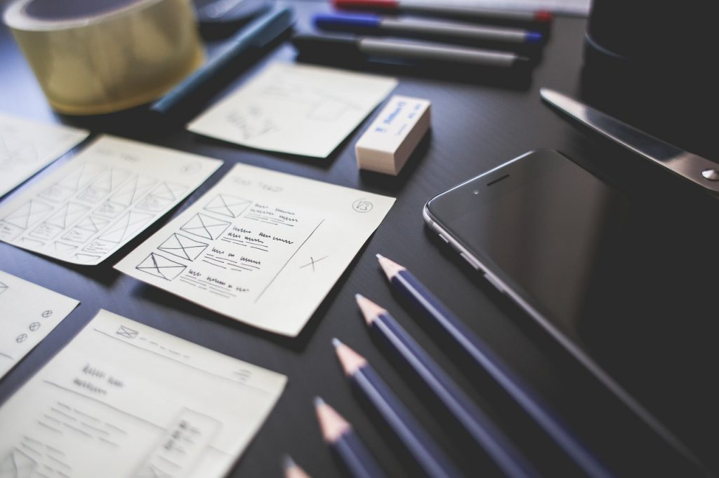 Planning of web design trends