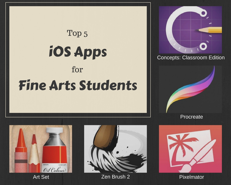 Apps for Students: Top Android and iOS Apps for Fine Arts Majors