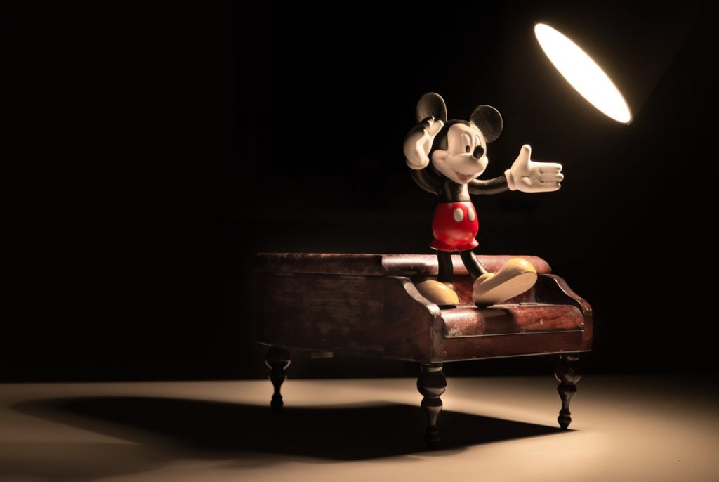 Mickey Mouse Action Figure - k-12 animation track