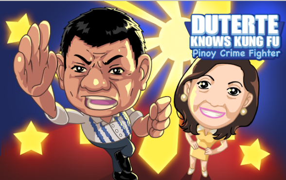 duterte knows kung fu: mobile game development school