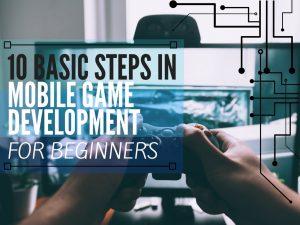 Mobile game development process article