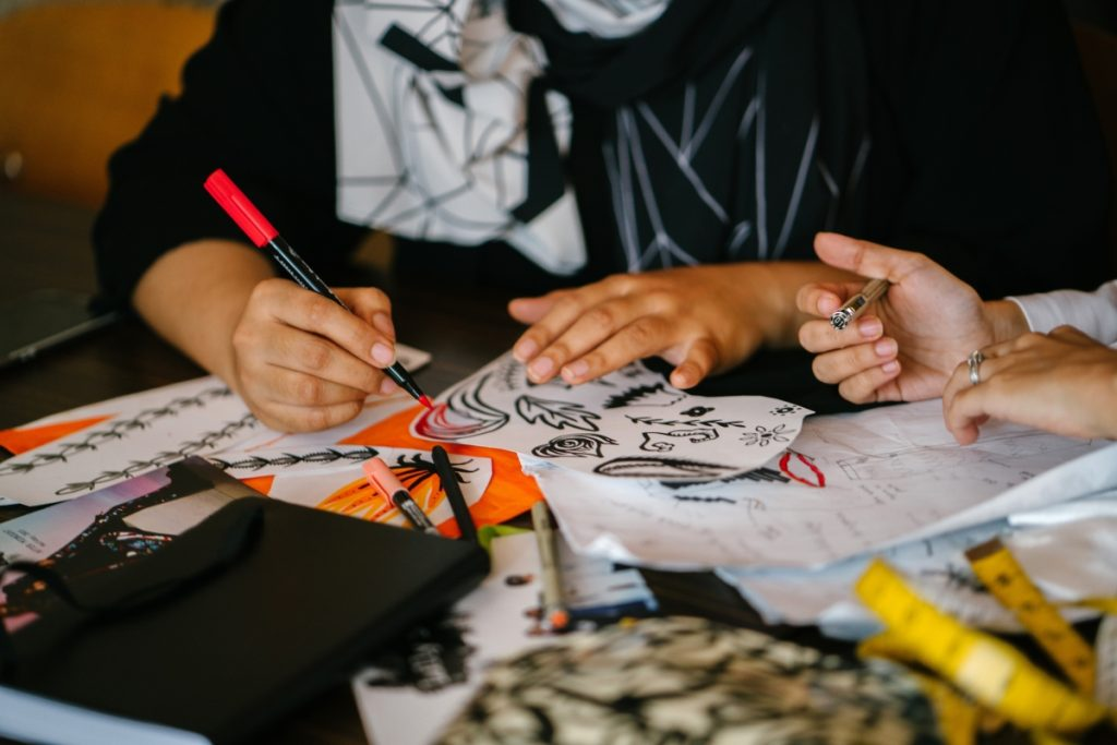 CIIT Philippines students honing their coloring skills for animation school