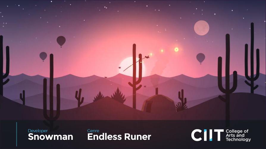 top mobile games -  Alto's Odyssey