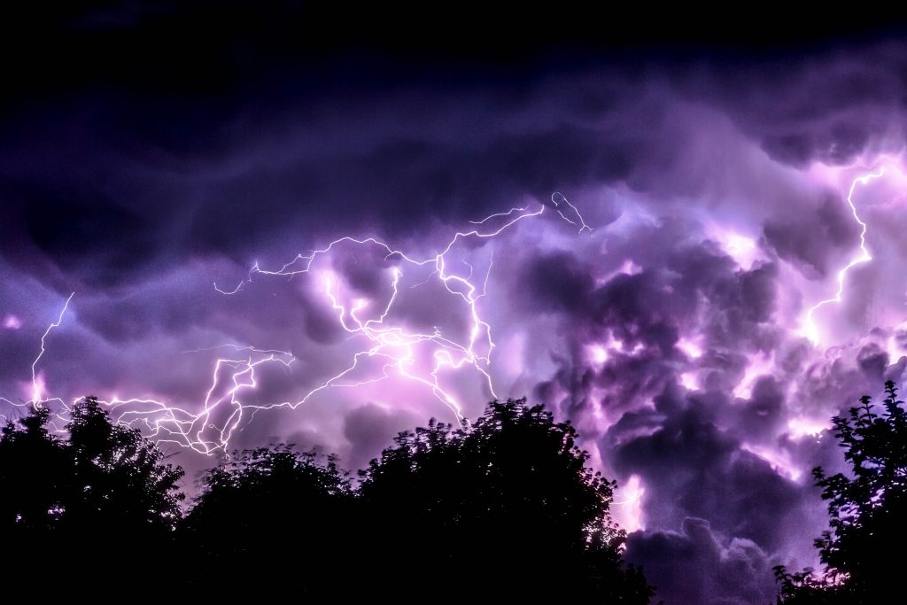 ultra violet lightning