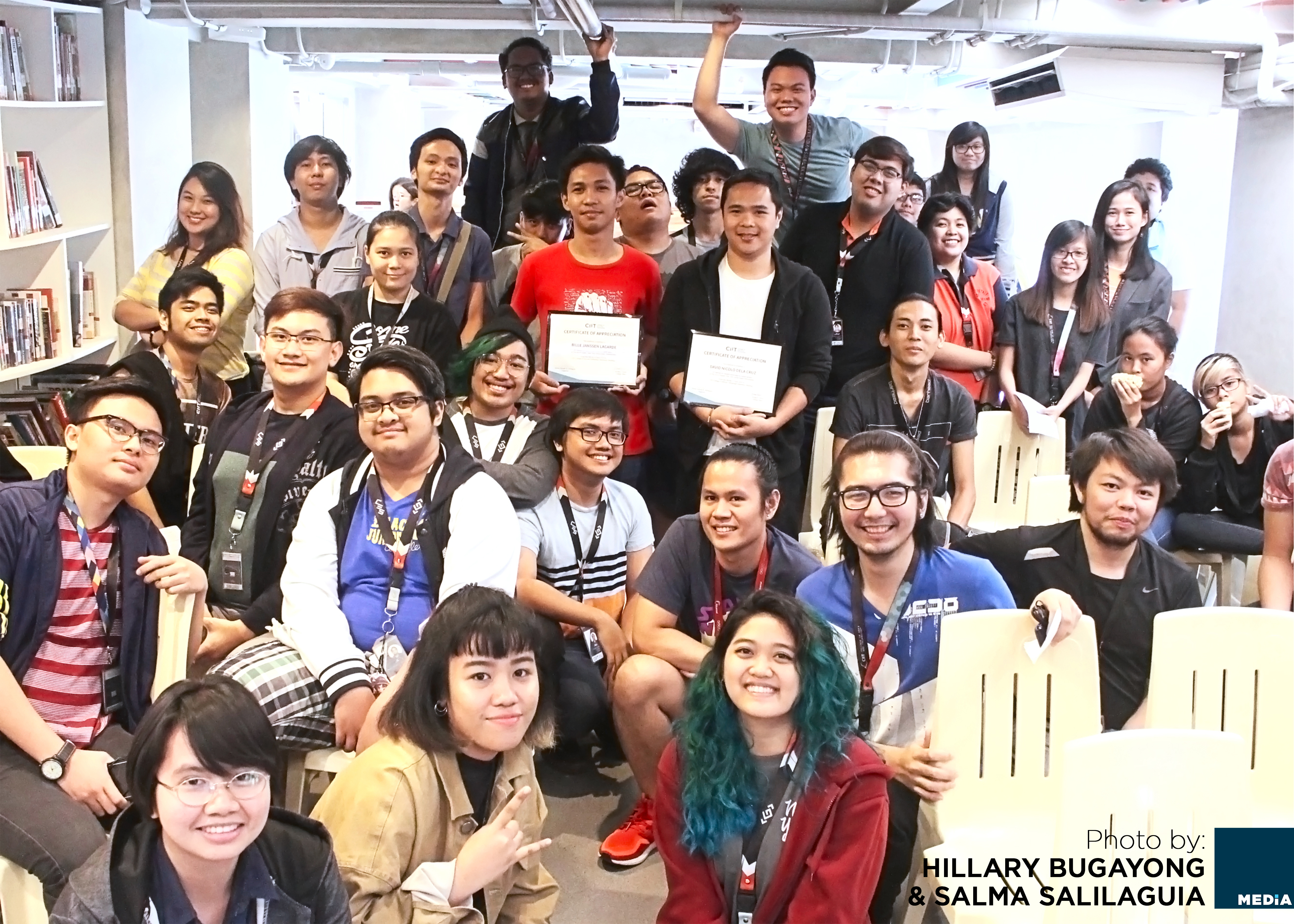 a group picture of the attendees as CIIT holds seminar about game development industry