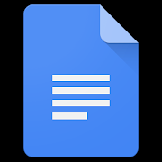 Google Docs logo - apps for millennials