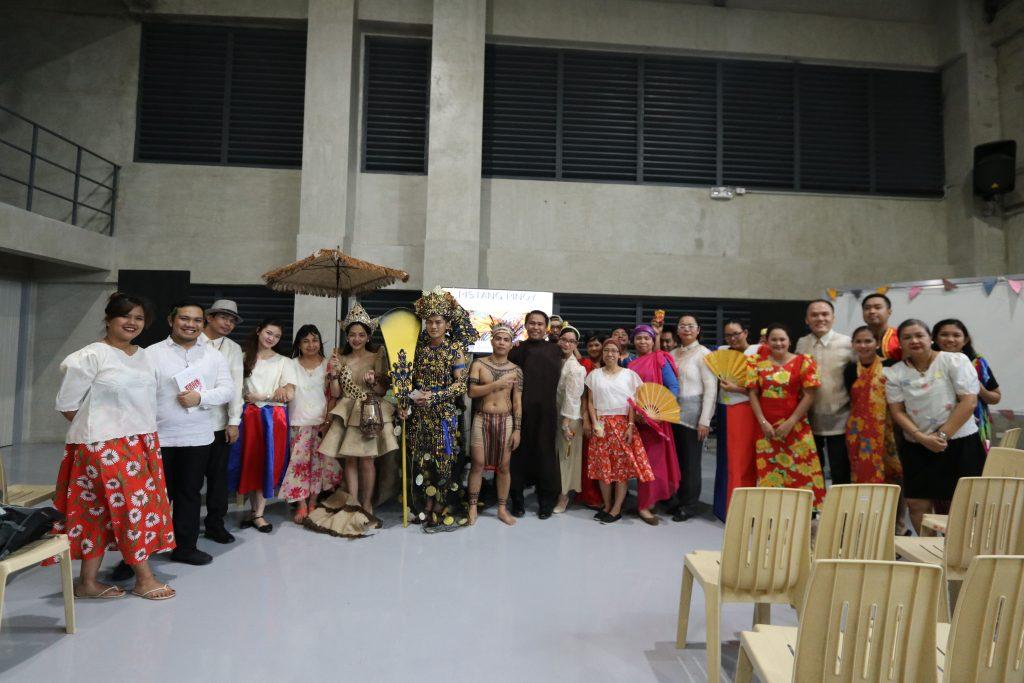 CIIT Staff Celebrating Buwan ng Wika