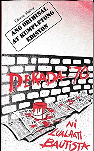 Interesting Books for Senior High School: Dekada '70 by Lualhati Bautista