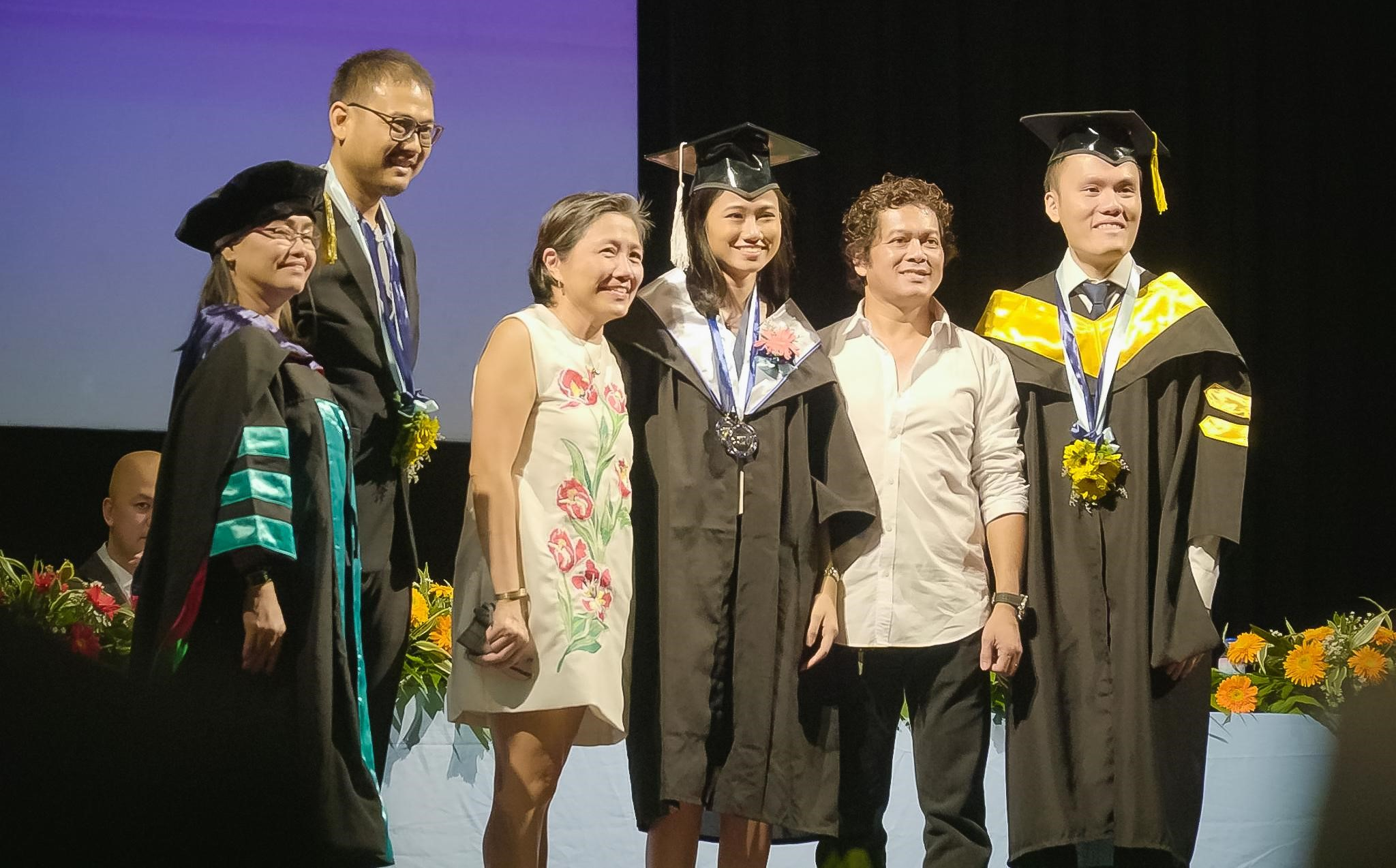 CIIT Commencement Ceremony – Audrelene Janelle Paez, Valedictorian