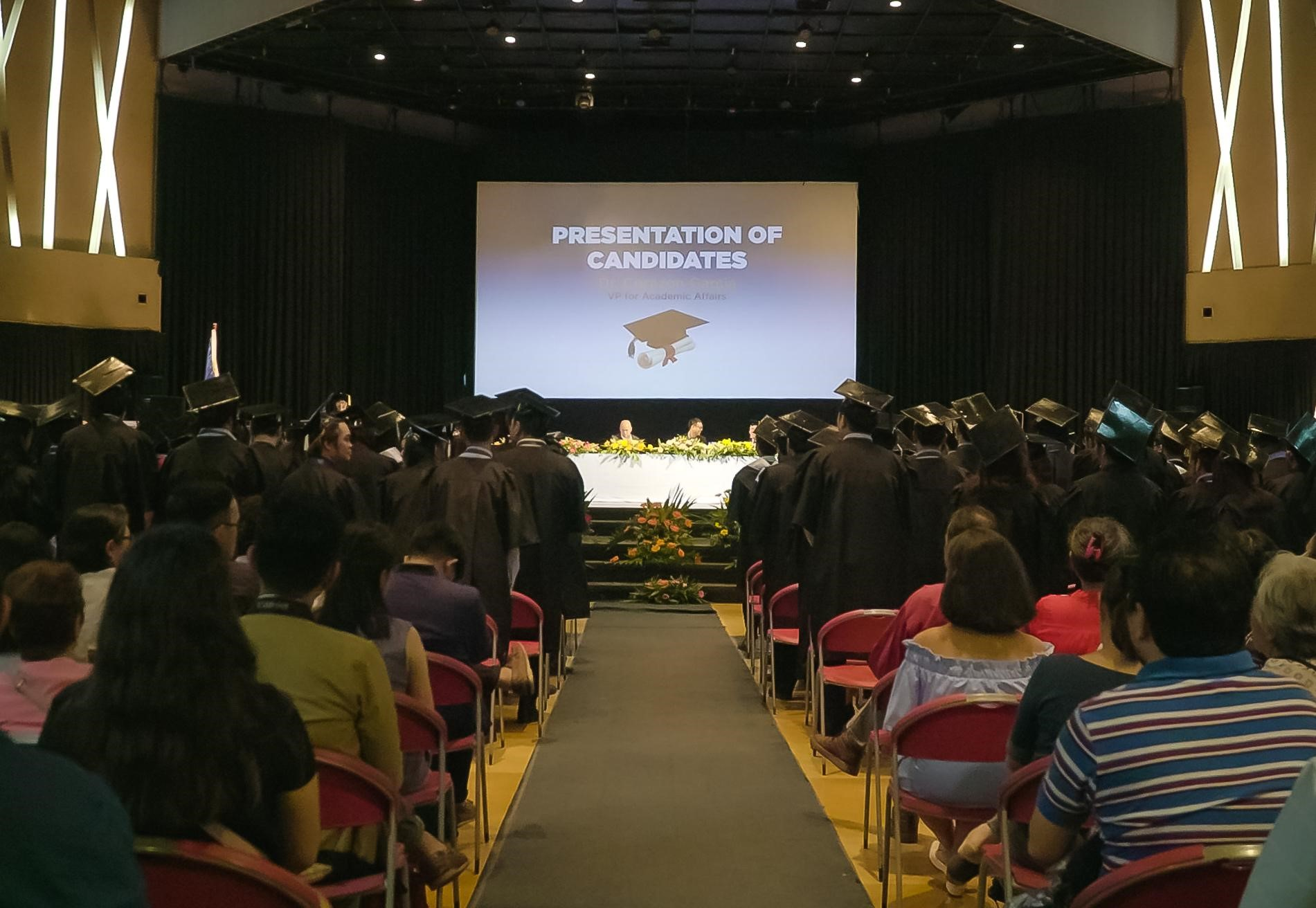 CIIT Commencement Ceremony: Recognition of Student Works and Service
