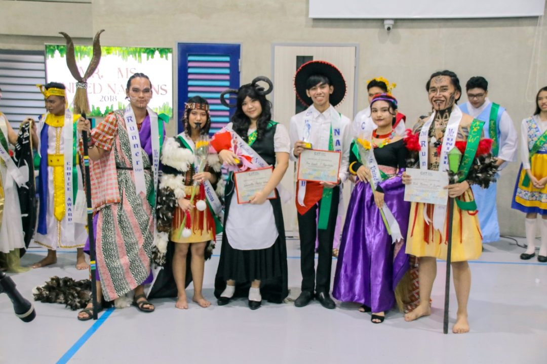 CIIT SHS conducts UN and Halloween Celebration