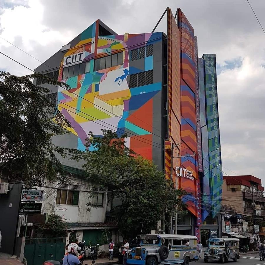 CIIT Interweave Building - Jose Rizal Mural