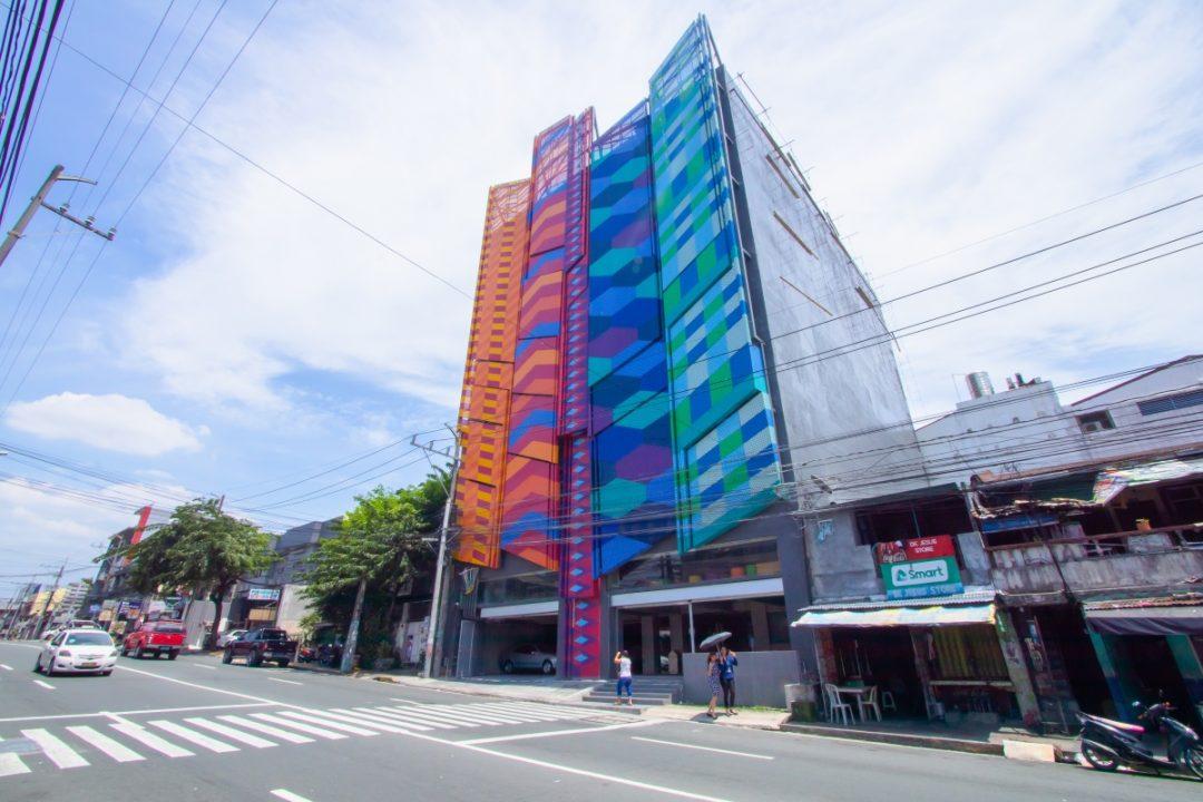 CIIT Interweave Building Facade