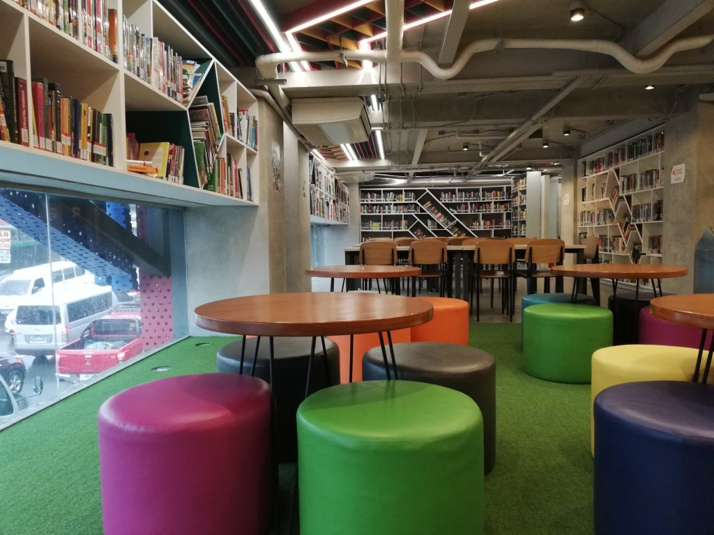 CIIT facts: They have a cozy library!