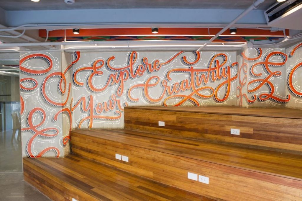 CIIT facts: Library Mural Arts