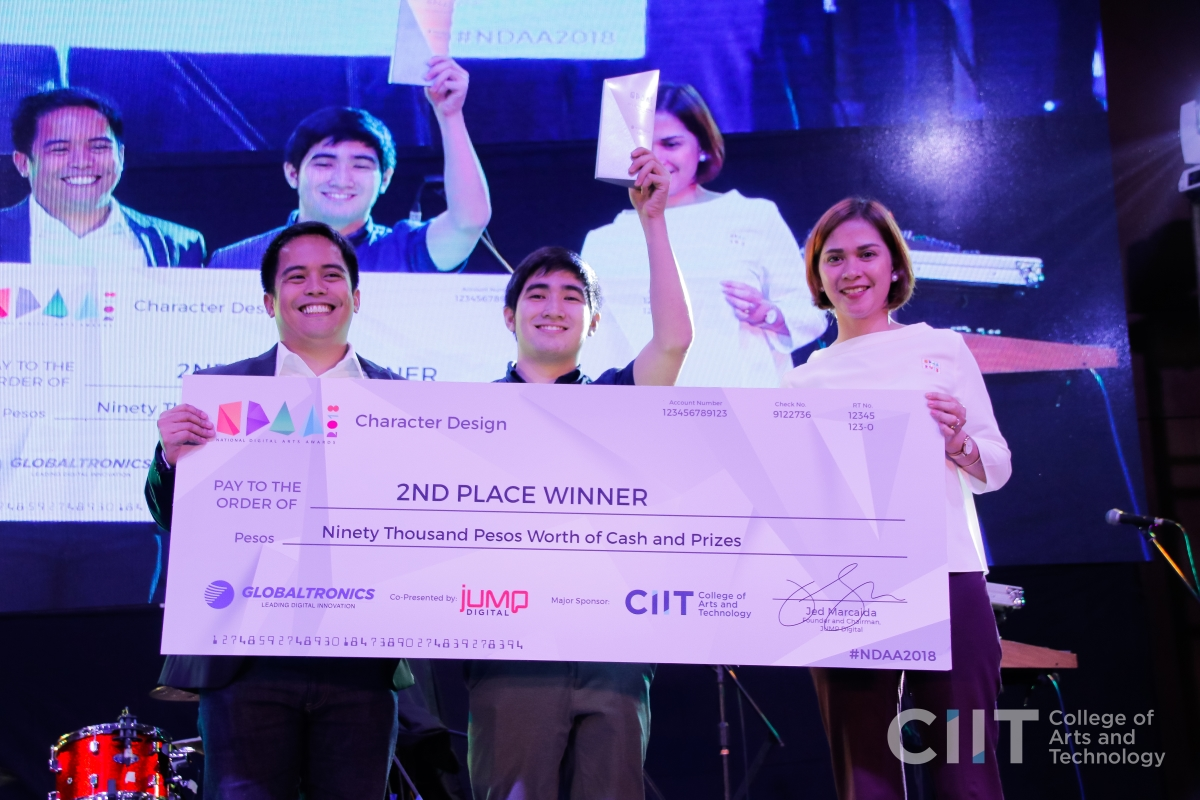 CIIT National Digital Arts Awardees: John Patrick A. Gañas
