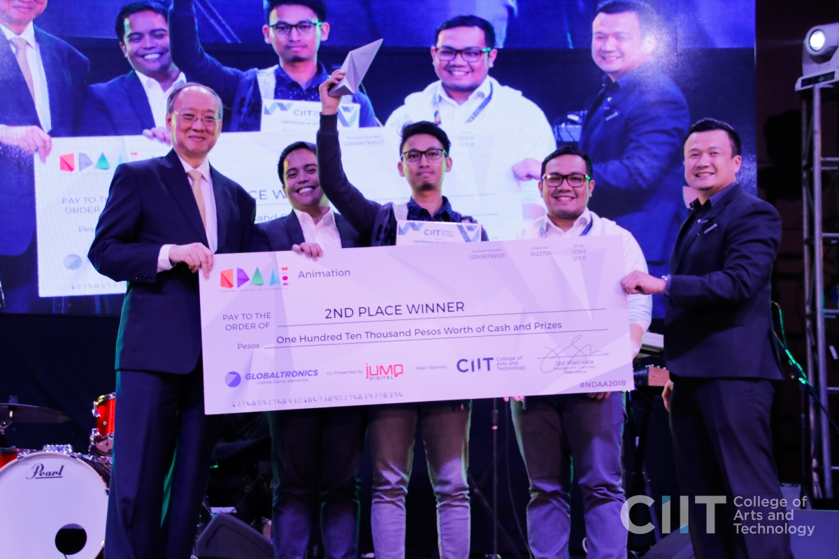 CIIT National Digital Arts Awardees: Julian Felipe Bacani