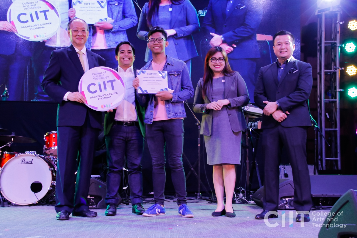 CIIT NAtional Digital Arts Awardees: John Clister Santos