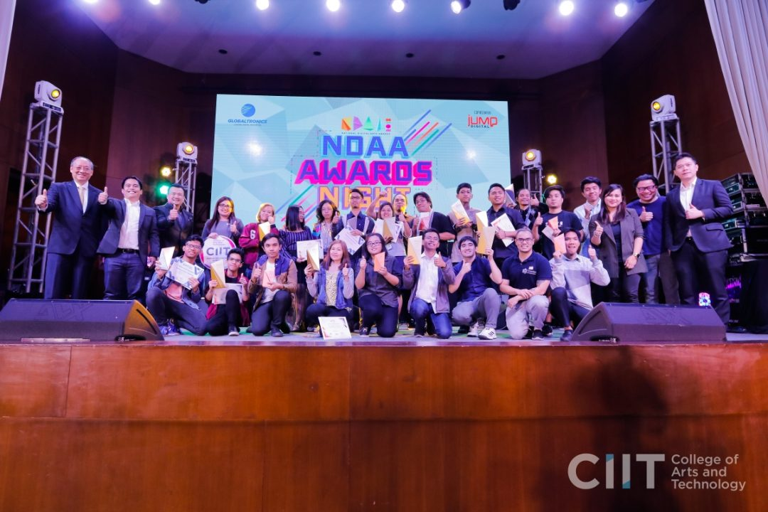 CIIT National Digital Arts Awardees
