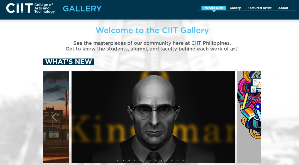 CIIT Arts Week 2019: Online Gallery