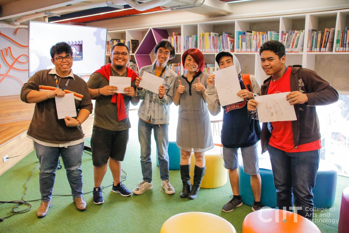 CIIT Arts Week 2019: Racket Chick Challenge Participants