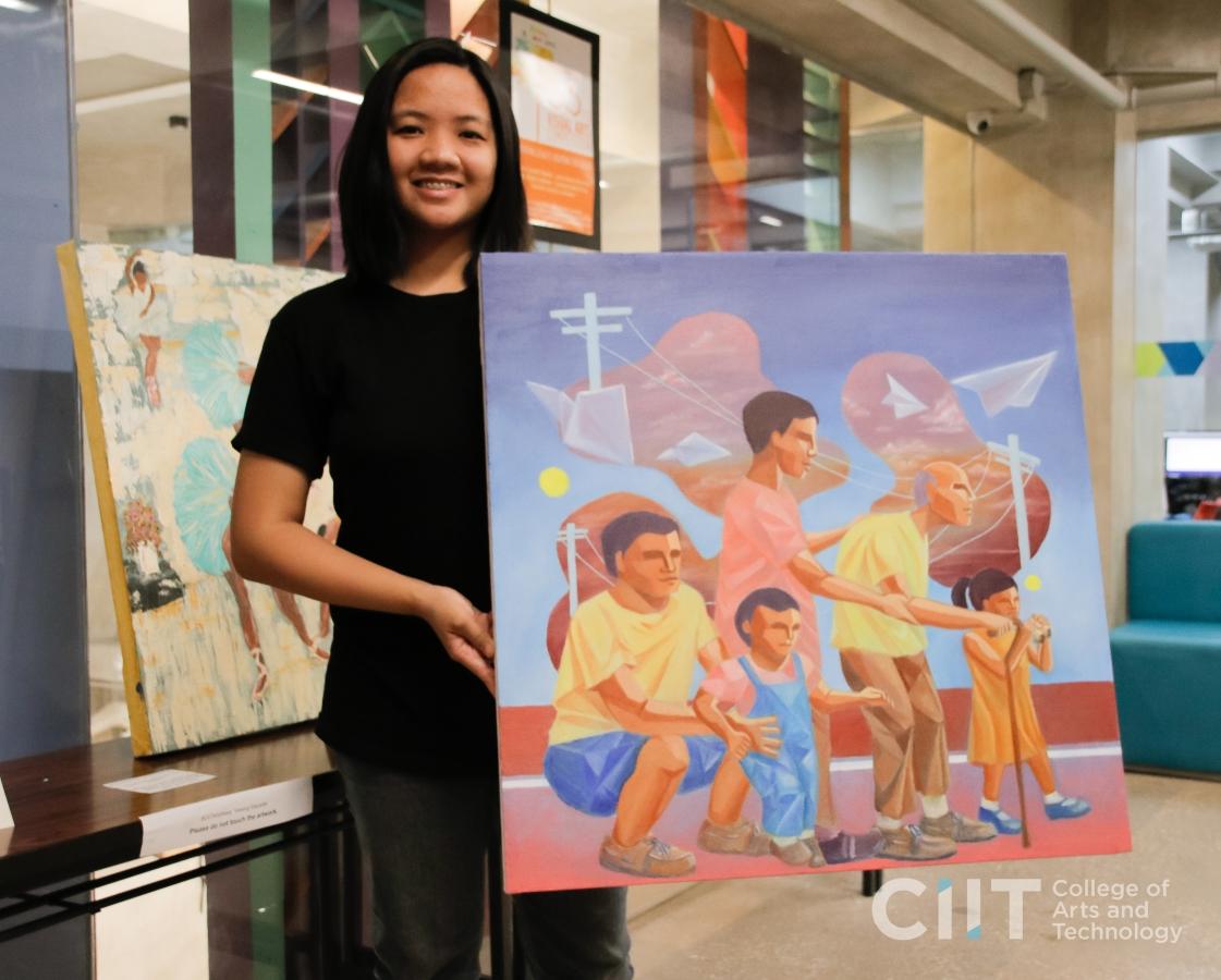 """CIIT Arts Week 2019: """"Sa Pagdating ng Araw"""" by Charina Jimenez"""