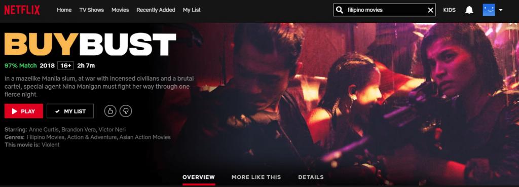 Netflix Philippines: BuyBust