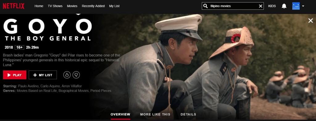 Netflix Philippines: Goyo: Ang Batang Heneral