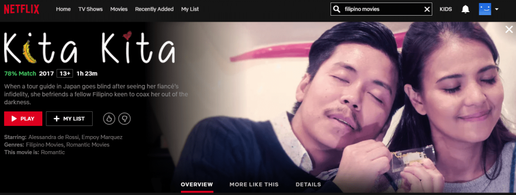 Netflix Philippines: Kita Kita