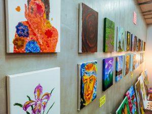 Art display at Art for Everyone 2019