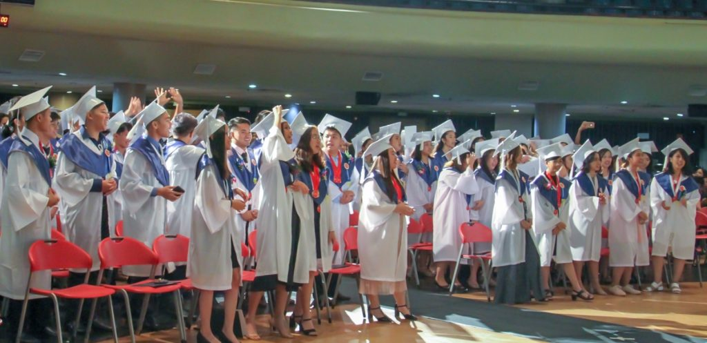 Graduating Students of CIIT SHS 2nd Commencement Exercise