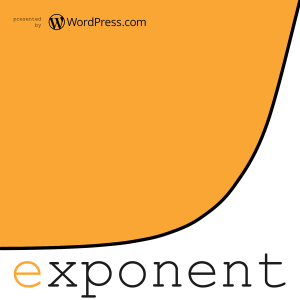 A graphic image of Exponent as one of the best podcasts