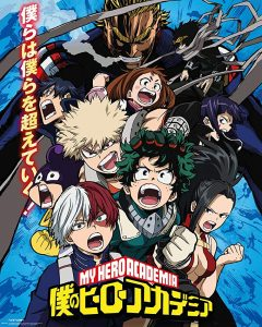 Best Anime Series: My Hero Academia