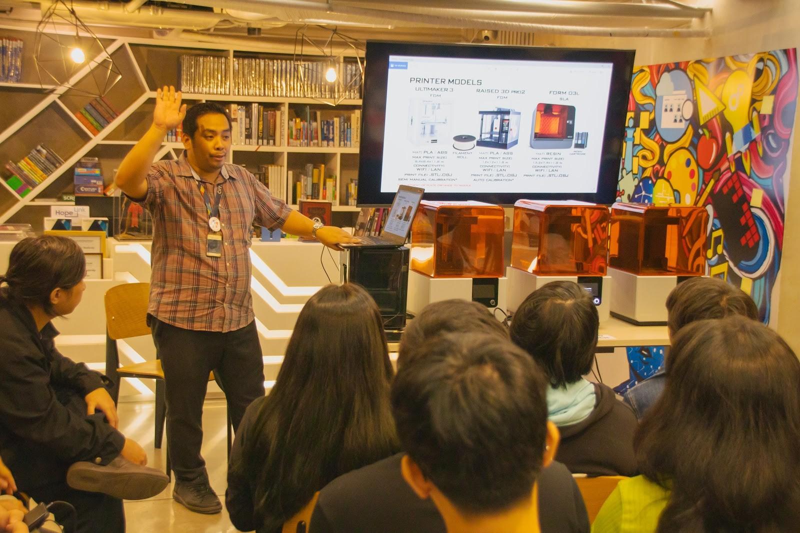 CIIT 3D Printers Talk