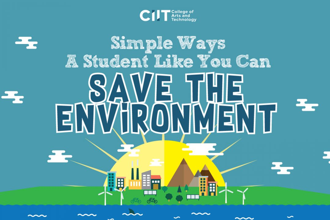 Simple Ways a Student Like You Can Save the Environment featured image