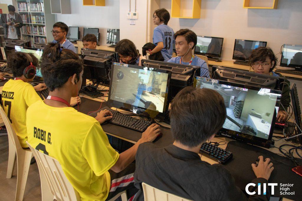 Agwikasan 2019 CIIT students e-games participants