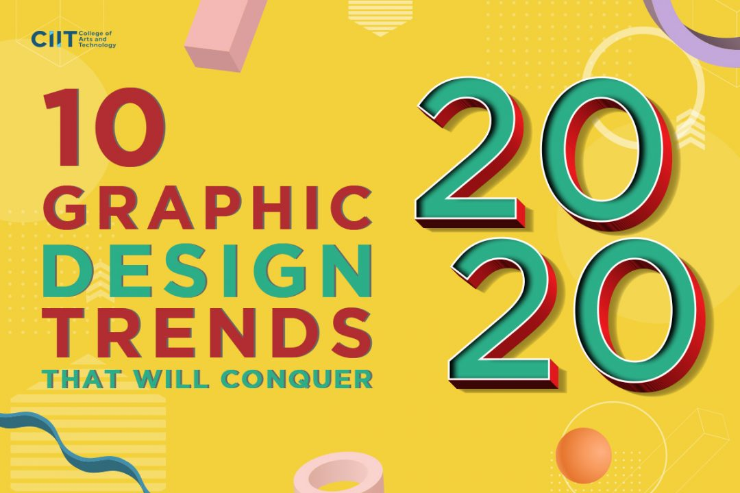 Graphic design trends that will conquer 2020