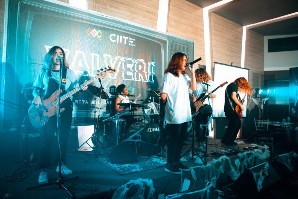 CIIT SHS Halloween Live Band
