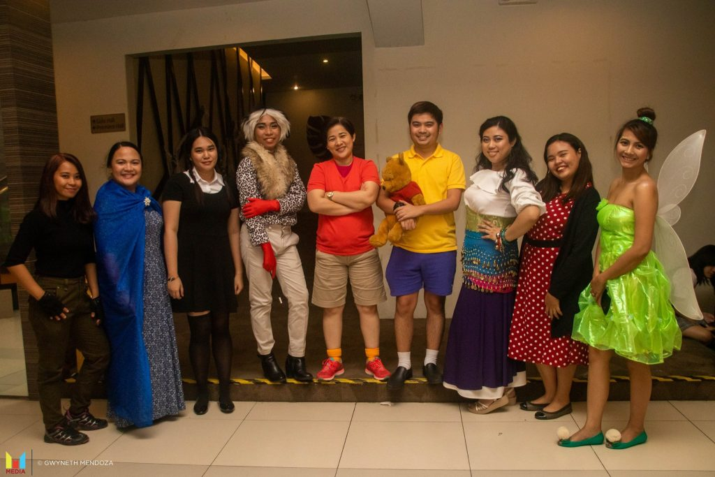 CIIT SHS Halloween Theme Party Faculty Members