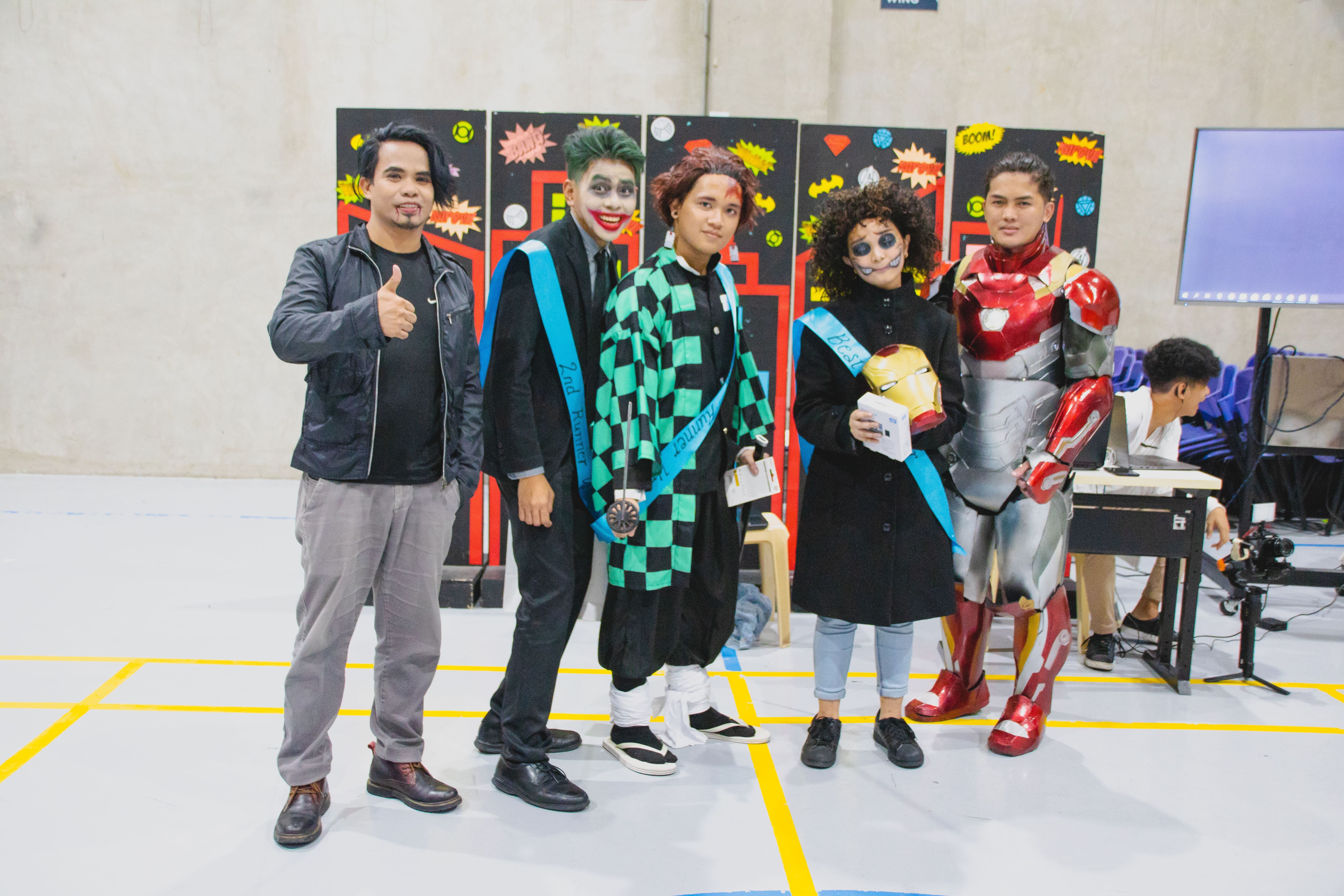 CIIT's Halloween Party Cosplayers