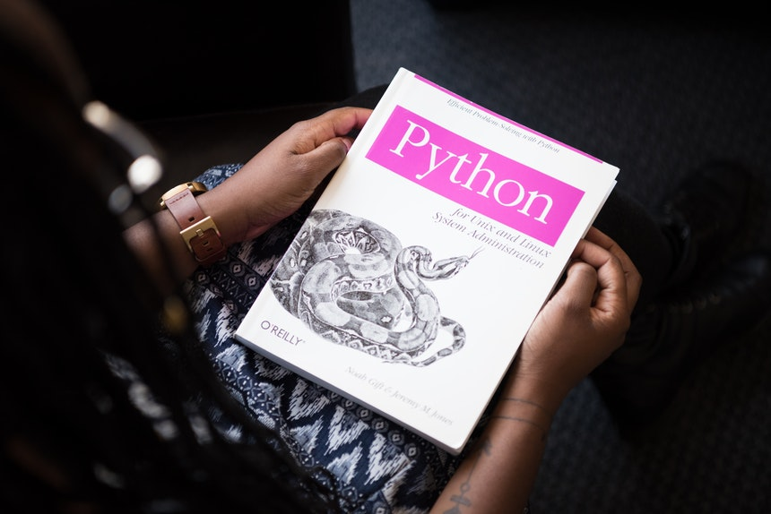 Python book used for web and mobile application development course