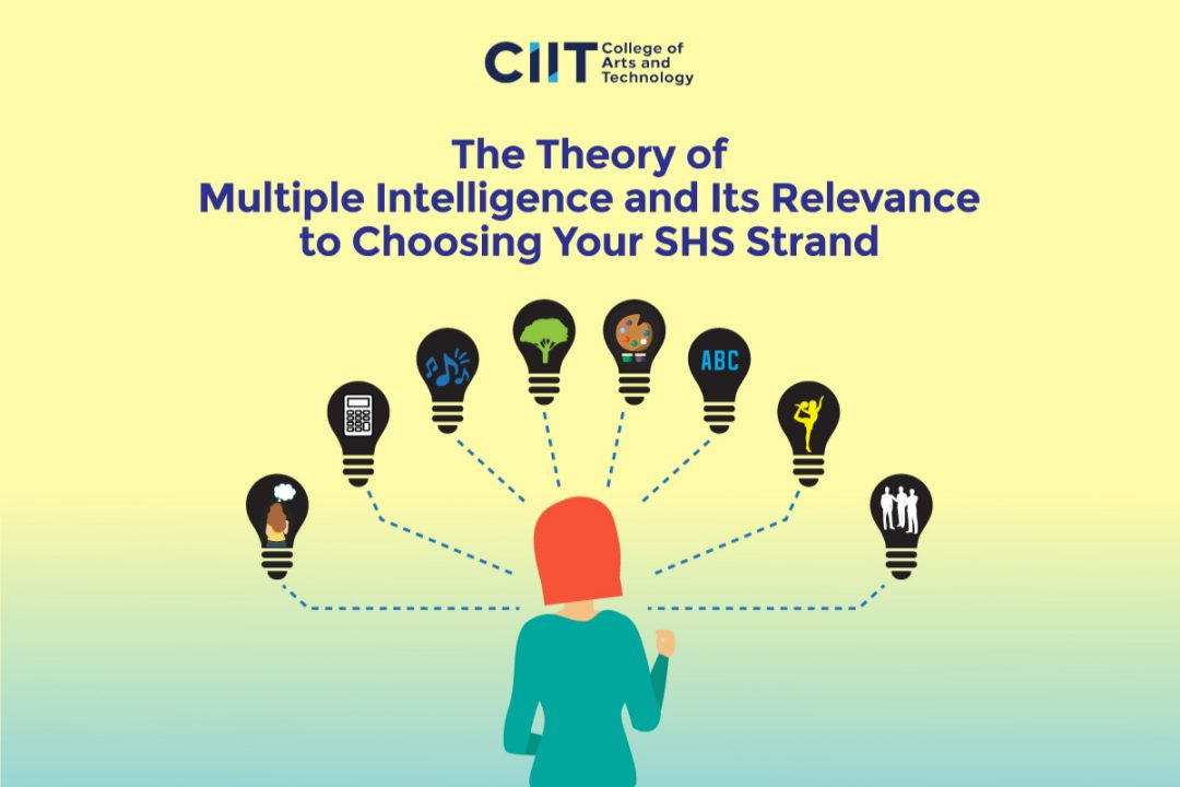 The theory of multiple intelligences and how it can help you in choosing your SHS strand