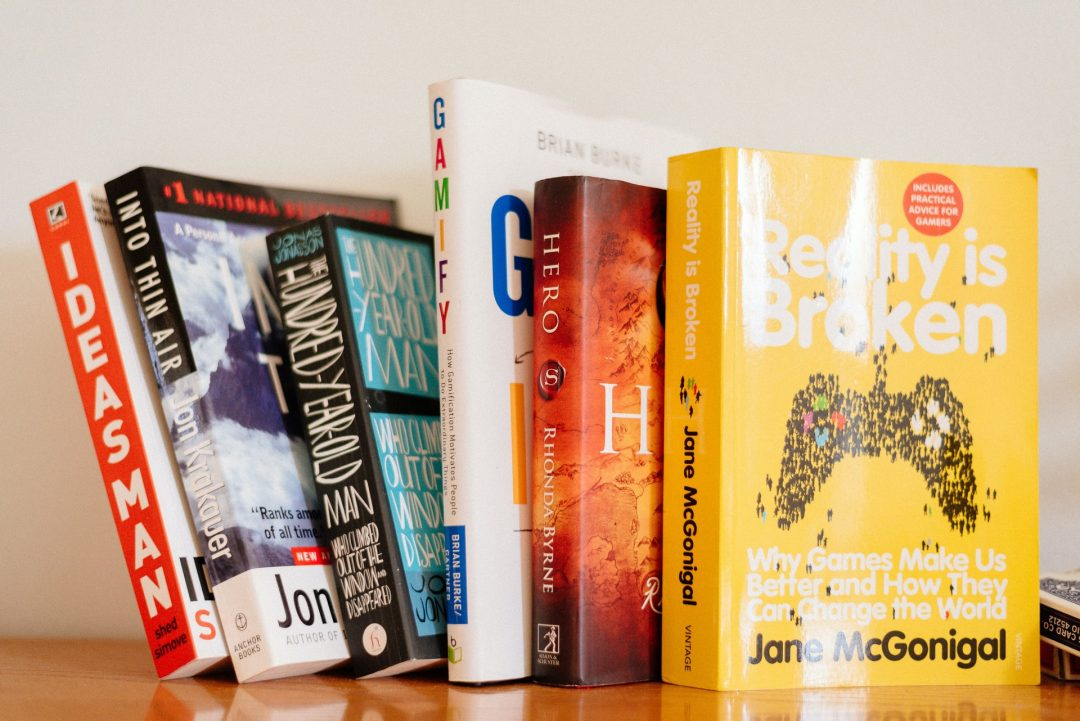 Helpful books students need to study gamification
