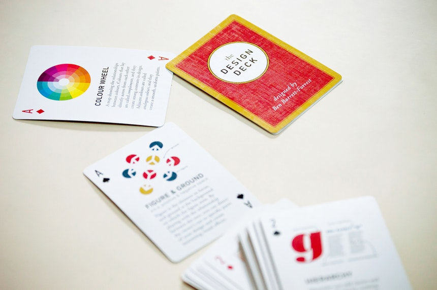 Card game that helps study gamification concepts