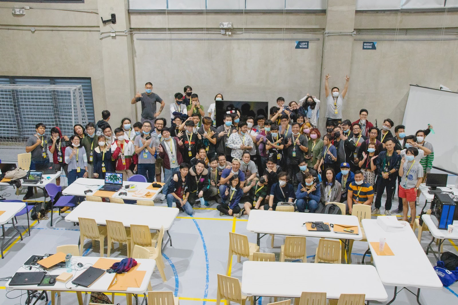 The Jammers of the 2020 Global Game Jam in CIIT