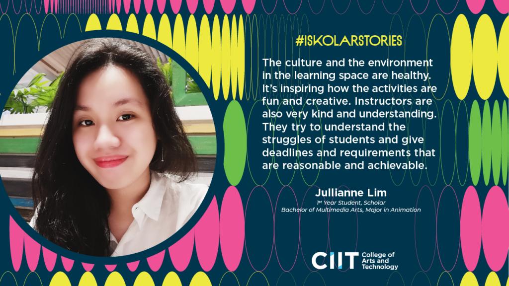 Jullianne Lim - CIIT Iskolar Stories