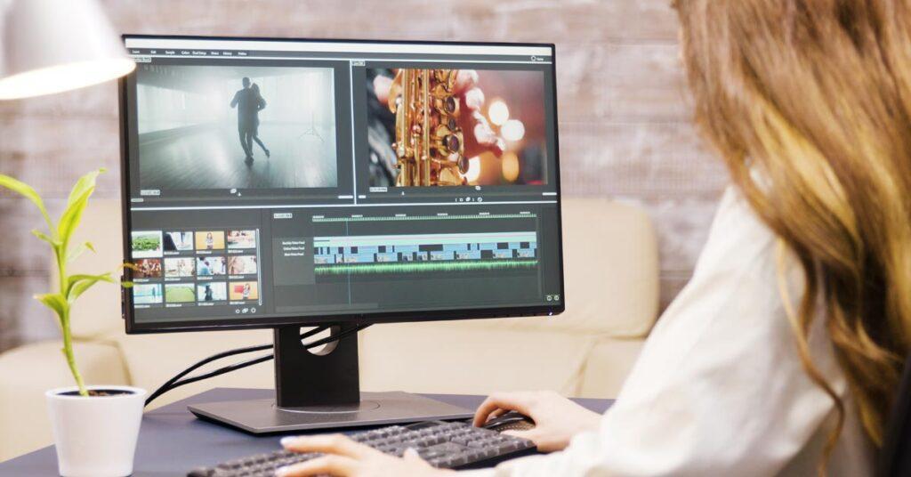 A person defining multimedia arts